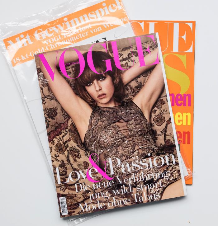 """""""Vogue"""" Titel"""