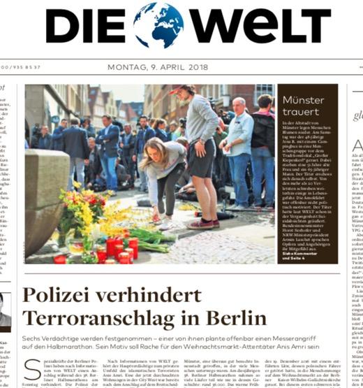 Polizei verhindert Terroranschlag in Berlin