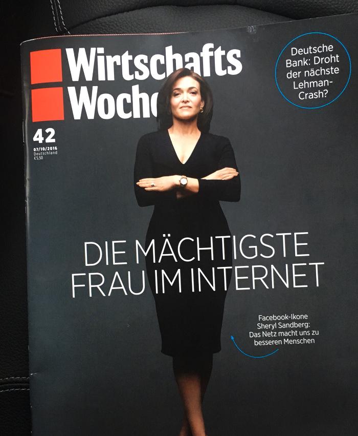 """Cover """"Wirtschaftswoche"""""""