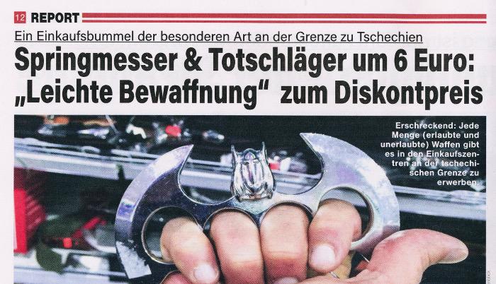 """Waffen-Shopping mit dem """"Wochenblick"""""""