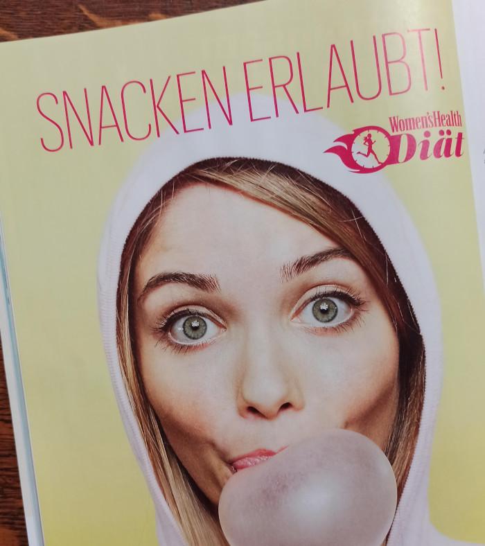 Diät-Tipps in Women's Health, Ausgabe 03-2020