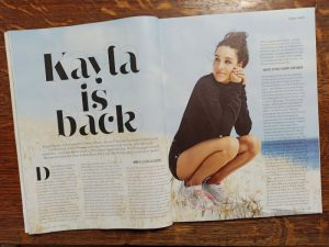 Kayla Itsines in Women's Health, Ausgabe 03-2020