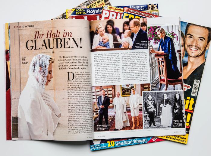 """Frau im Spiegel Royal"": Clickbaiting auf Papier"