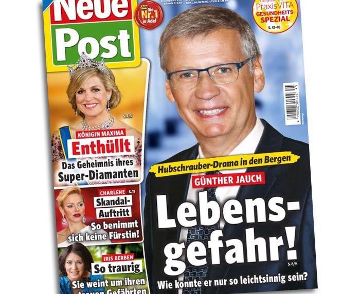 Hubschrauber-Drama in den Bergen - Günther Jauch - Lebensgefahr! Wie konnte er nur so leichtsinnig sein?