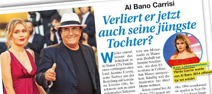 Al Bano Carrisi - Verliert er jetzt auch seine jüngste Tochter?