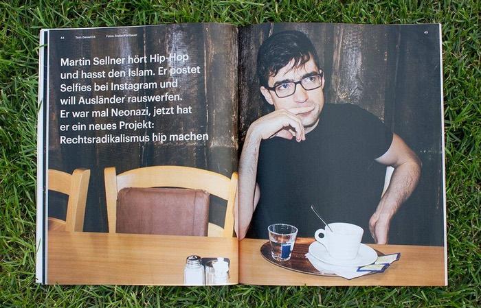"""""""Zeit Campus""""-Artikel über Martin Sellner"""